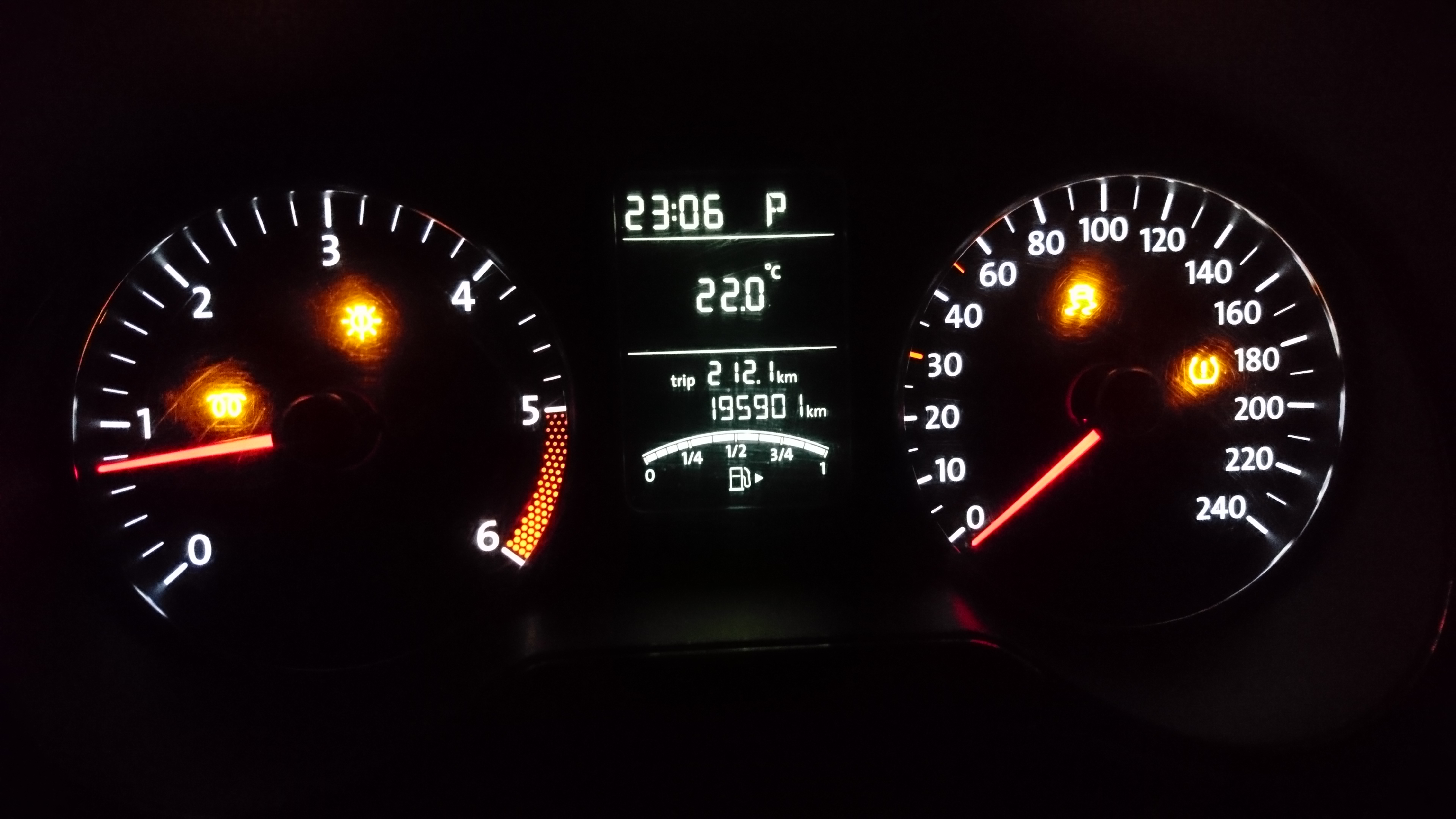 Auto Light with CH-LH on Polo 6R 12/2009 with DSG and RLS